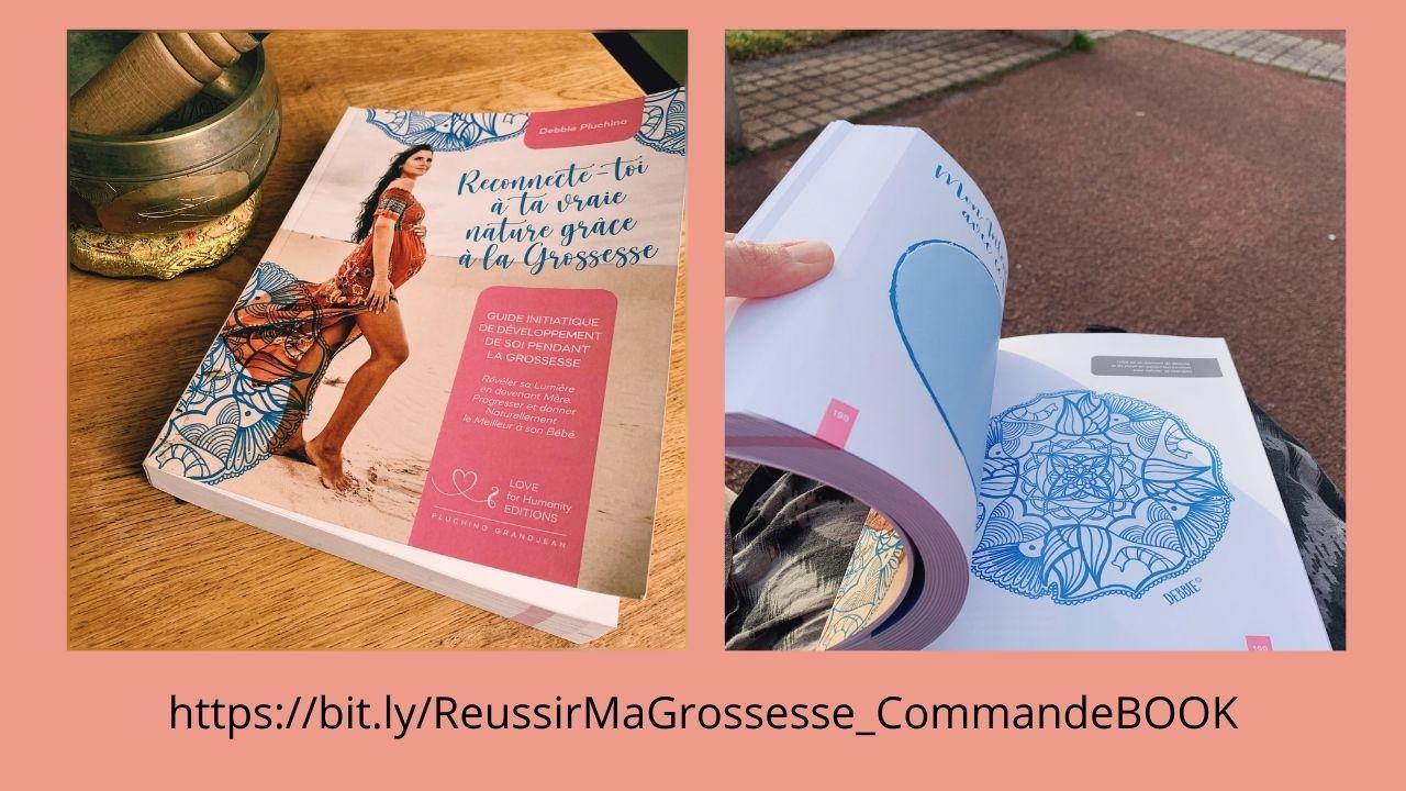 Commande livre Reconnecte-toi a ta vraoe nature grace a la grossesse